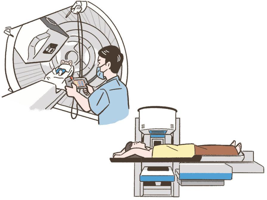 がんの先進医療の代表例である「重粒子線治療」や「陽子線治療」